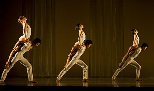 Фрагмент из балета «Тема и четыре вариации» (Фото: Alice Blangero)