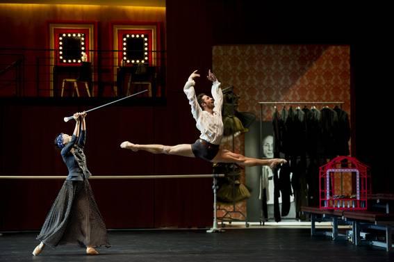 Репетиция Эруди (Г. Коррадо) - этуали труппы (Фото : Alice Blangero)