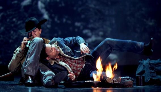Сцена из оперы Шарля Вюоринена «Brokeback Mountain»