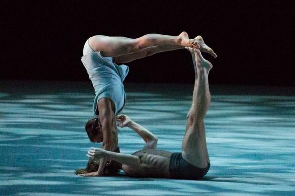 Оливия Анкона и Джеймс О'Хара в балете С.Л.Шекауи «Фавн»