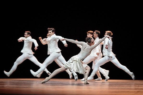 Фрагмент из «Танцевальной сюиты»