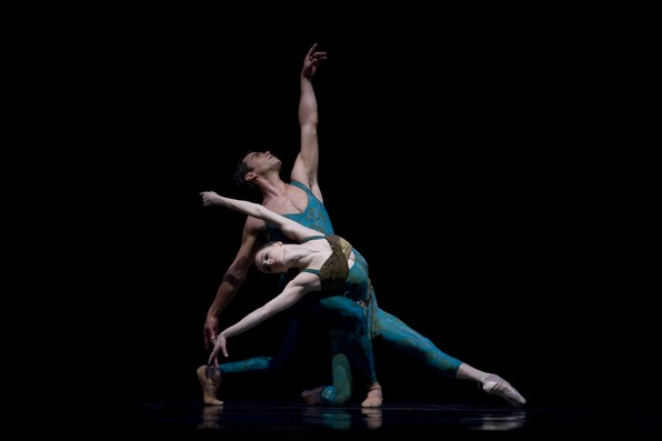 Па-де-де из балета К.Уилдона «Золотой час»