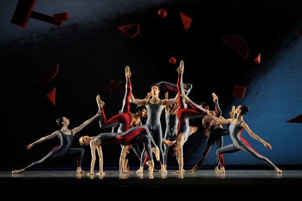 Фрагмент балета А.Ратманского «Фортепианный концерт»