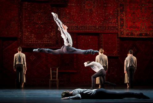 Соло из балета «Symphonie des psaumes»