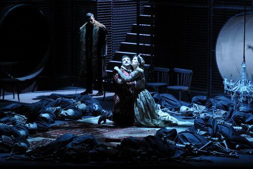 Финал второй картины оперы «Франческа да Римини»