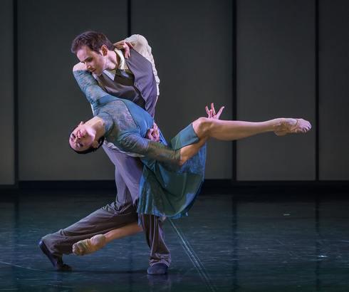 Николь (Л.Андреева) и Дик (О.Габишев)