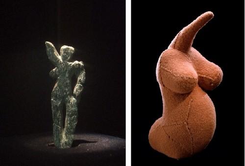 Vénus de Galgenberg / Fragile Goddess © Louise Bourgeois